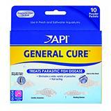 API General Cure Aquarium Fish Medication 10ct.