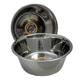 Stainless Steel Dog Food/Water Bowl 5 Qt 2 pack