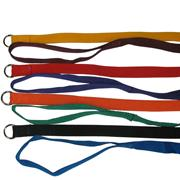 Nylon Kennel Slip Lead 52in x 3/4in for Dogs 18 pack