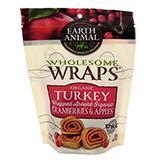 Earth Animals Organic Turkey and Cranberry Apple Wrap 5oz