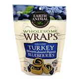 Earth Animals Organic Turkey and Blueberry Wrap 5oz