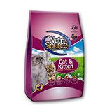 NutriSource Chicken and Rice Kitten Food 16Lb.