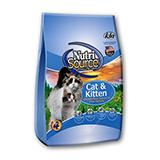 NutriSource Chicken Salmon Cat and Kitten Food 1.5Lb.