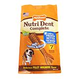 Nutrident Edible Dental Dog Chews Medium 7 ct