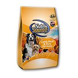 NutriSource Lamb and Rice Dog Food 6.6Lb.