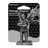 Midnight Dragons Mini Knight Aquarium Ornament
