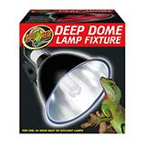 Deluxe Porcelain Deep Dome Lamp