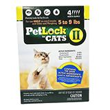 Petlock II Cat 5-9 pound 4-pack  Flea Control