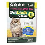 Petlock II Cat 10-18 pound 4-pack  Flea Control