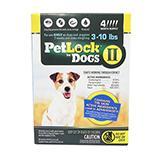 Petlock II Dog 3-10 lb 4pk