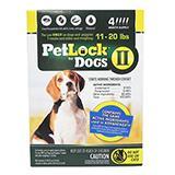 Petlock II Dog 11-20 lb 4pk