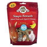 Oxbow Simple Rewards Apple Banana 3oz