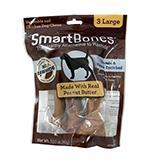 SmartBone Rawhide-Free Dog Treats Large Bone 3 Pack