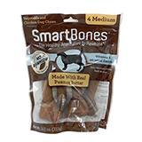 SmartBone Peanut Butter Medium 4 Pack