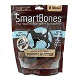 SmartBone Rawhide-Free Dog Treats Small Bone 6 Pack