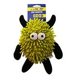 Mop Monster with Squeaker Color Will Vary Soft Dog Toy