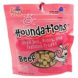 Loving Pets Houndations Beef Training Treats 4oz