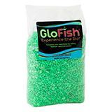 Glofish Aquarium Gravel Green Fluorescent 5Lb.