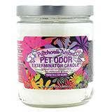 Pet Odor Eliminator Patchouli Amber Candle