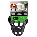 Alpha by Zeus Black Dog Muzzle Size 3 Medium