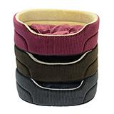 Cozy Pet 19-inch Oval Pet Bed Color Will Vary