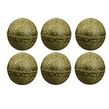 Pawbreakers! All-Natural Catnip Edible Ball Cat Treat 6 Pack