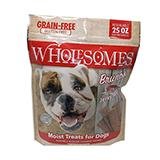 Bruno's Wholesomes Grain Free Pork Jerky For Dogs 25oz