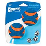 Chuckit! Medium Squeaker Ball 2-Pack