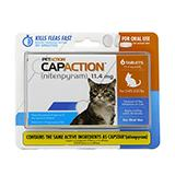 CapAction Oral Flea Treatment for Cats Under 25Lbs.