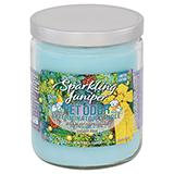 Pet Odor Eliminator Sparkling Juniper Candle