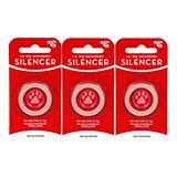 Circle ID Tag Silencer Large 3 Pack