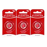 Dog Tag Silencer Circle Small 3 Pack