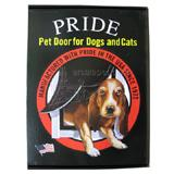 Pride Anodized Silver Pet Door Large LD500