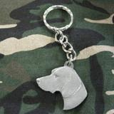 Pewter Key Chain I Love My Pointer
