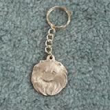 Pewter Key Chain I Love My Pomeranian