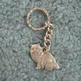 Pewter Key Chain I Love My Himalayan