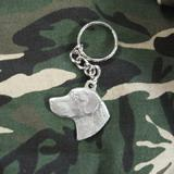 Pewter Key Chain I Love My Chesapeake Bay Retriever