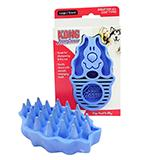 KONG Zoom Groom Dog Rubber Curry Comb