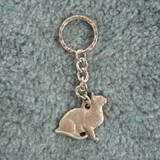 Pewter Key Chain I Love My Burmese