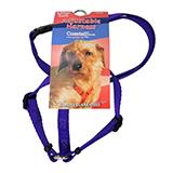 Adjustable XSmall Dog Harness 3/8-inch Purple Nylon