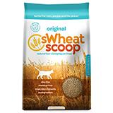 SWheat Scoop Natural Wheat Cat Litter 36 Lb.