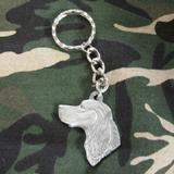 Pewter Key Chain I Love My Gordon Setter