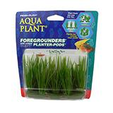 Hair Grass 6 Pod Plastic Aquarium Plant