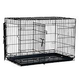Wire Fold-Down Dog Crate 36x23x25