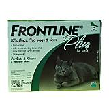 Frontline PLUS Cat 3-pack Flea and Tick Treatment