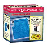 Rite Size Penguin Filter Cartridge A 6-Pack Mini