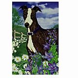 GR8 Dogs Greyhound Garden Flag