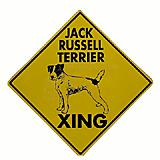 Jack Russell Xing Sign 12 x 12 inch