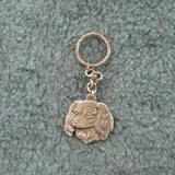 Pewter Key Chain I Love My Cavalier King Charles Spaniel