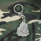 Pewter Key Chain I Love My English Cocker Spaniel